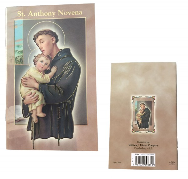 Saint Anthony Novena Pamphlet - Pack of 10 - Full Color