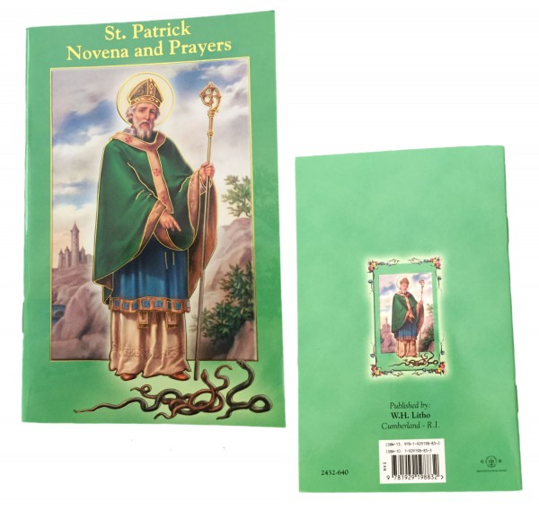Saint Patrick Novena and Prayer Pamphlet - 10 Per Pack - Green