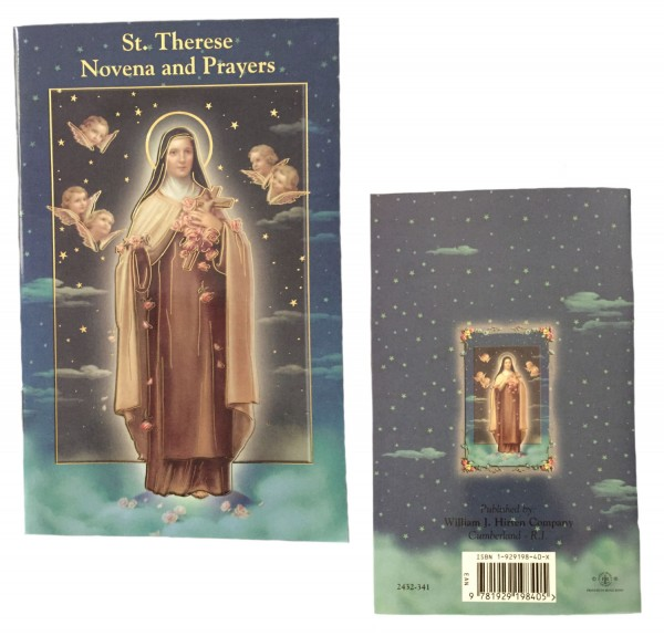 Saint Therese Novena Prayer Pamphlet - Pack of 10 - Blue