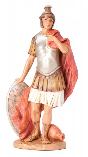 "Soldier Marcus Nativity Statue - 12"" scale - Multi-Color"