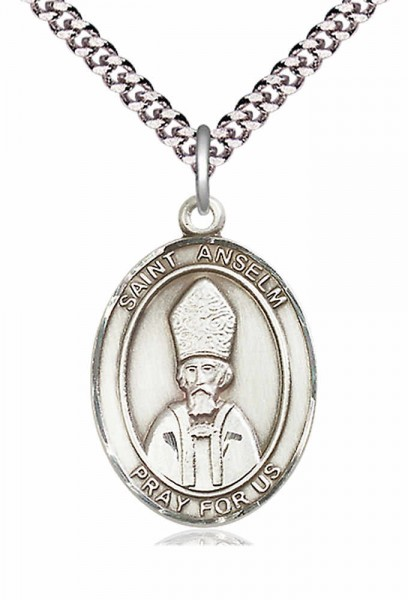 St. Anselm of Canterbury Medal - Pewter