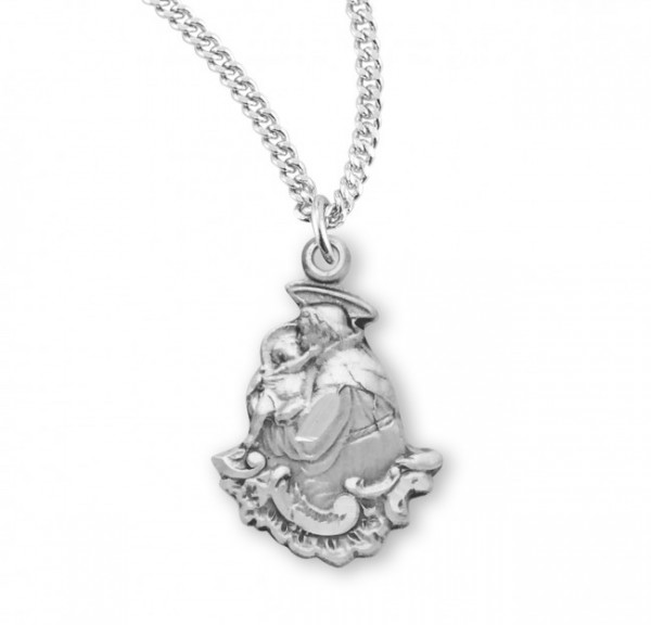 St. Anthony Medal Sterling Silver - Silver