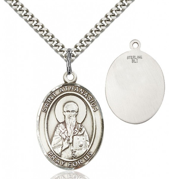 St. Athanasius Medal - Sterling Silver