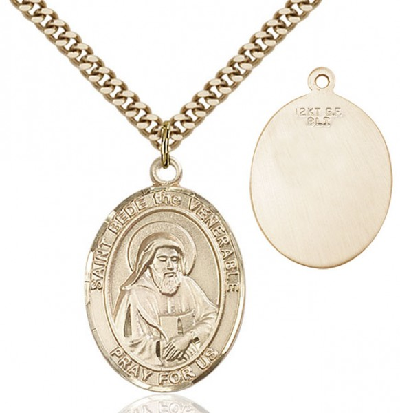 St. Bede the Venerable Medal - 14KT Gold Filled