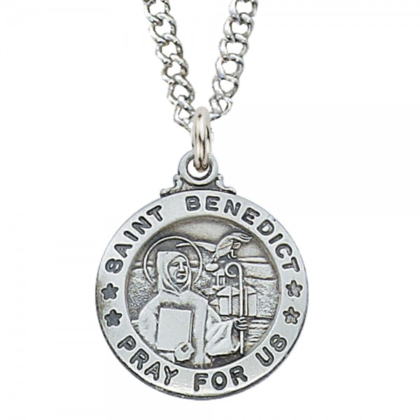 St. Benedict Medal - Silver