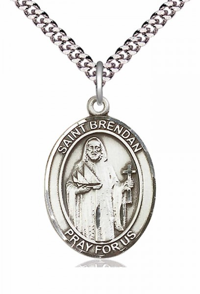 St. Brendan the Navigator Medal - Pewter