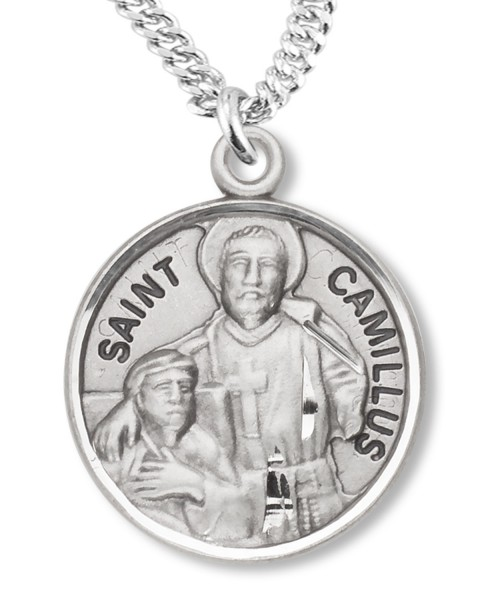 St. Camillus Medal - Sterling Silver