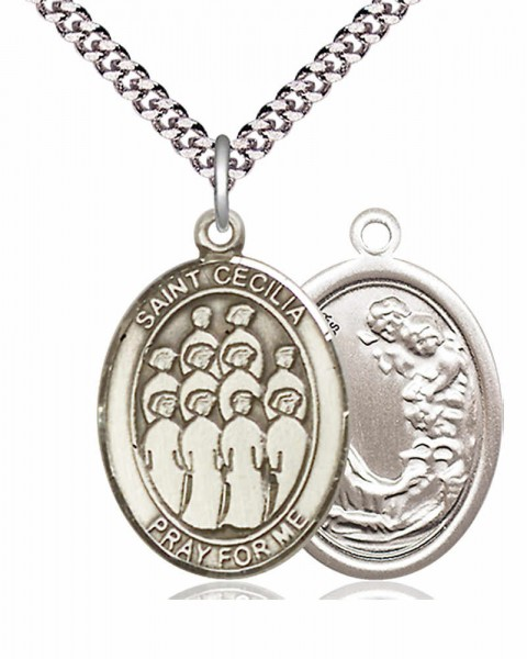 St. Cecilia Choir Medal - Pewter