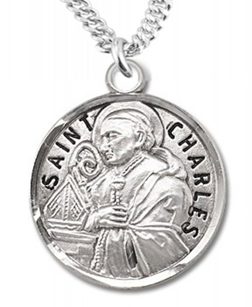 St. Charles Medal - Sterling Silver