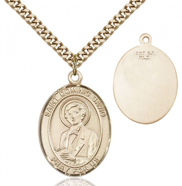 St. Dominic Savio Medal - 14KT Gold Filled