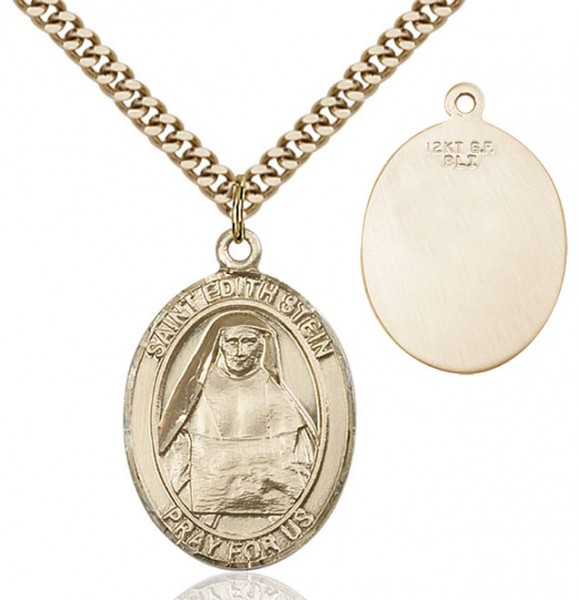 St. Edith Stein Medal - 14KT Gold Filled