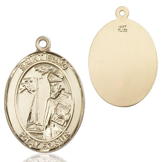 St. Elmo Medal - 14K Yellow Gold