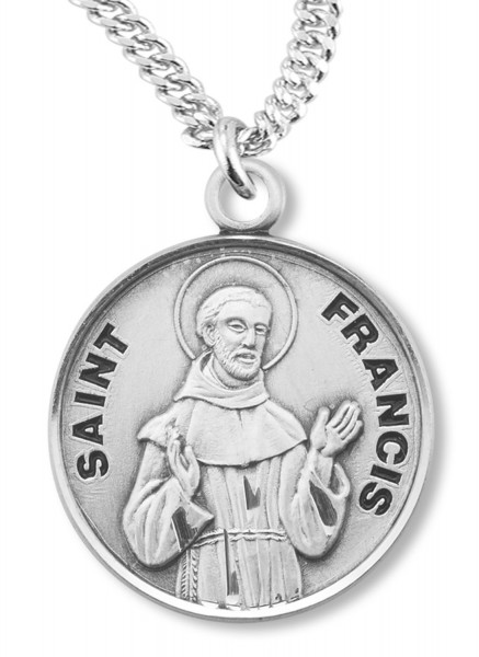 St. Francis Medal - Silver