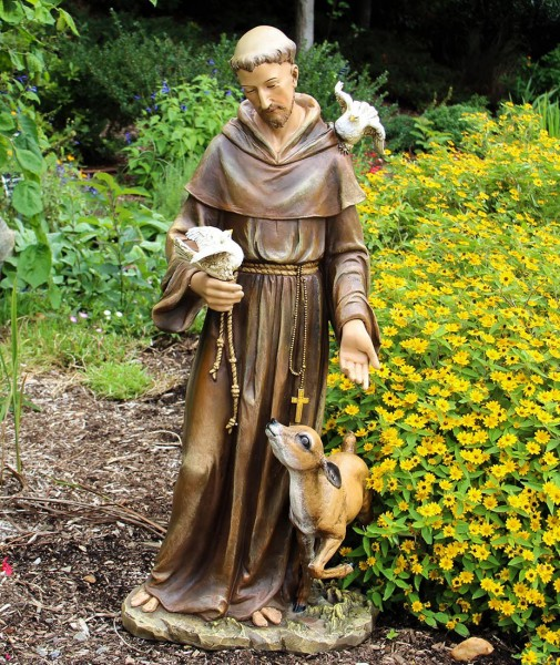 St Francis Statue 36 5 Inch