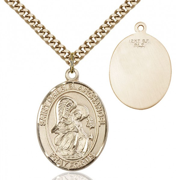 St. Gabriel the Archangel Medal - 14KT Gold Filled