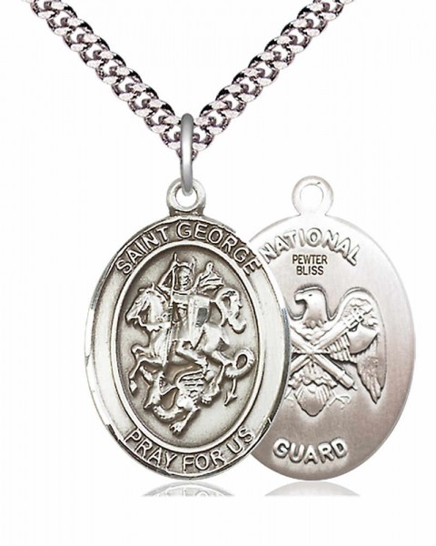St. George National Guard Medal - Pewter