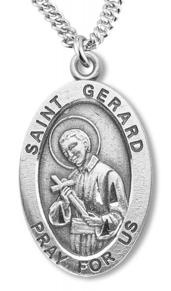 St gerard medal sterling silver st gerard medal sterling silver silver aloadofball Image collections
