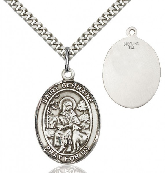 St. Germaine Cousin Medal - Sterling Silver