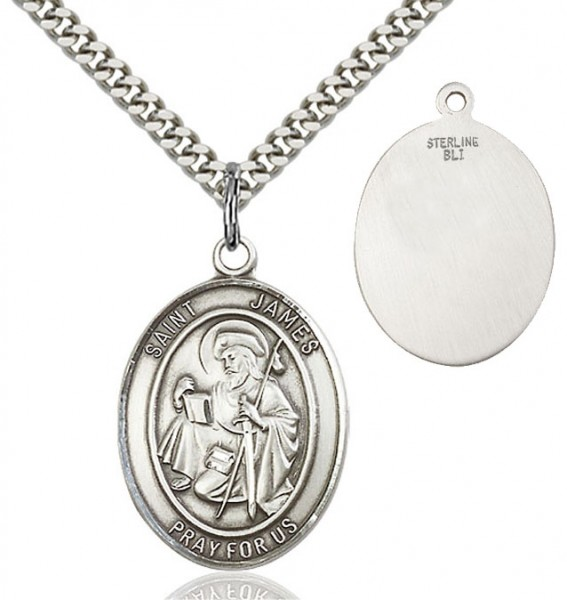 St. James the Greater Medal - Sterling Silver