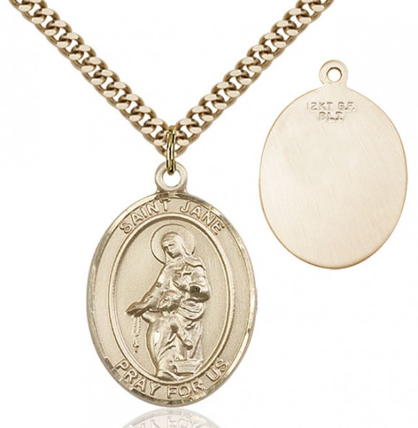 St. Jane of Valois Medal - 14KT Gold Filled