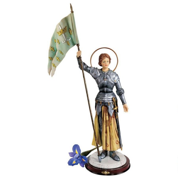 St. Joan of Arc Statue - Full Color