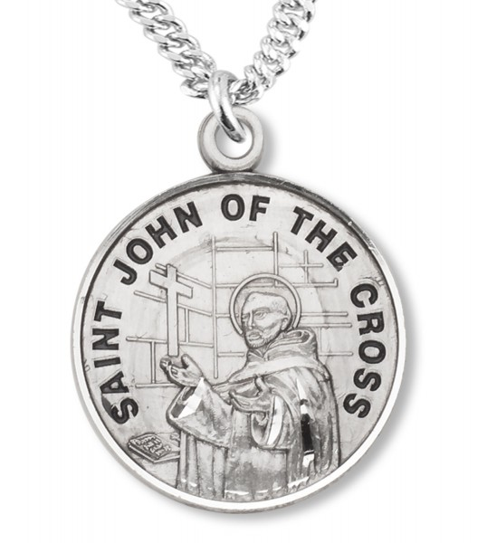 St. John of the Cross Medal - Sterling Silver
