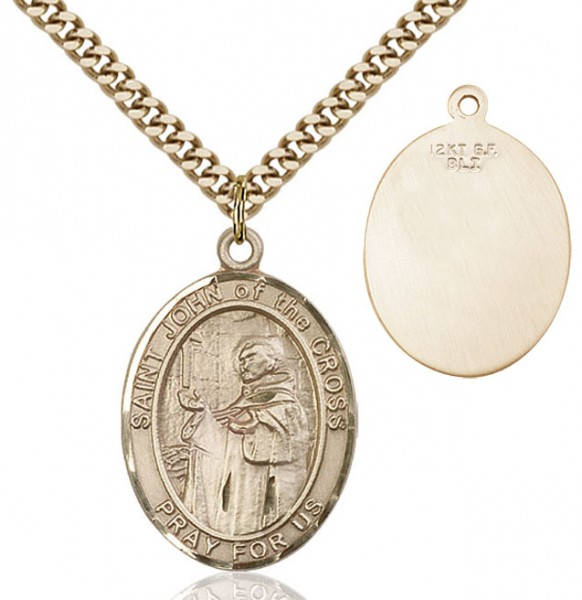 St. John of the Cross Medal - 14KT Gold Filled