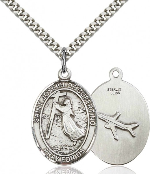 St. Joseph of Cupertino Medal - Pewter
