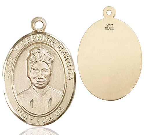 St. Josephine Medal - 14K Yellow Gold