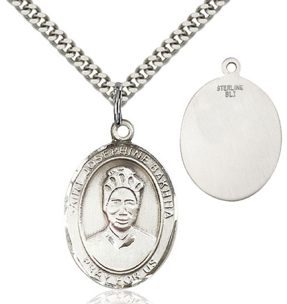 St. Josephine Medal - Sterling Silver