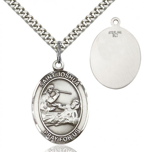 St. Joshua Medal - Sterling Silver
