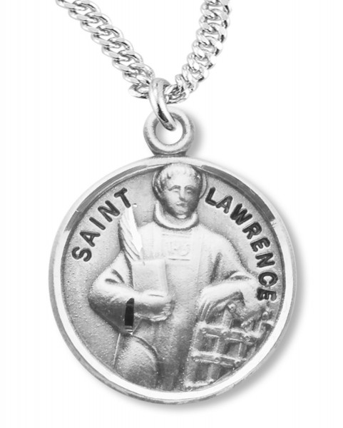 St. Lawrence Medal - Sterling Silver