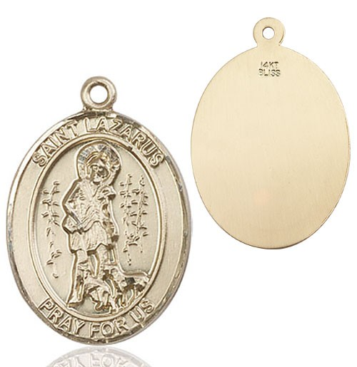 St. Lazarus Medal - 14K Yellow Gold