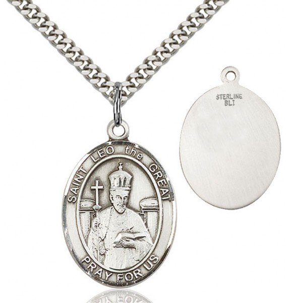 St. Leo the Great Medal - Sterling Silver