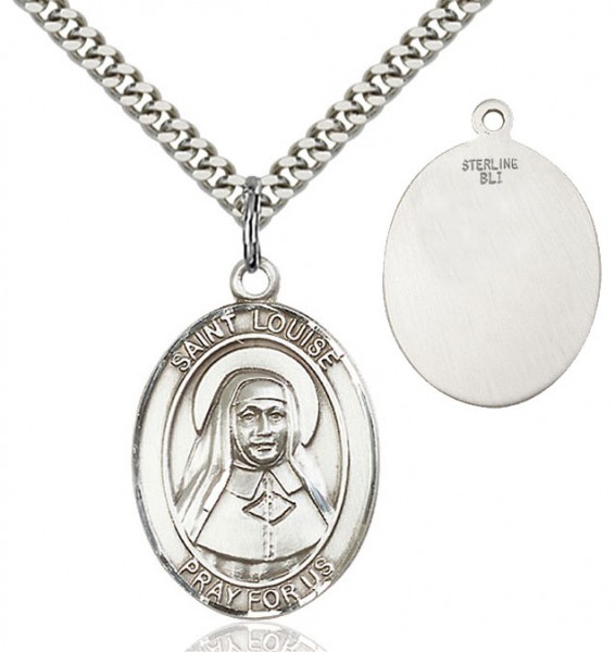 St. Louise de Marillac Medal - Sterling Silver