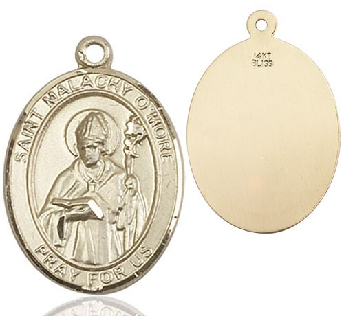 St. Malachy O'More Medal - 14K Yellow Gold