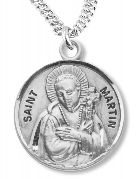St. Martin Medal - Sterling Silver