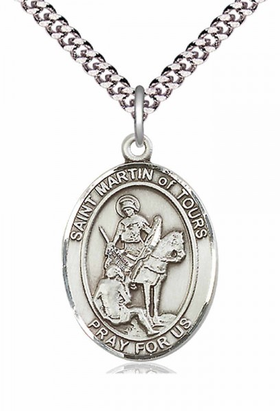 St. Martin of Tours Medal - Pewter