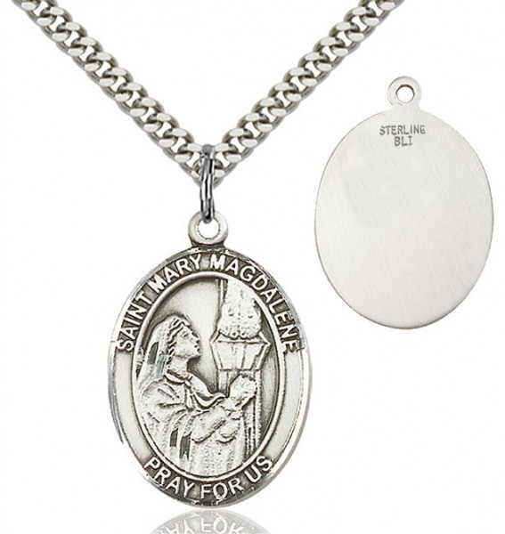 St. Mary Magdalene Medal - Sterling Silver