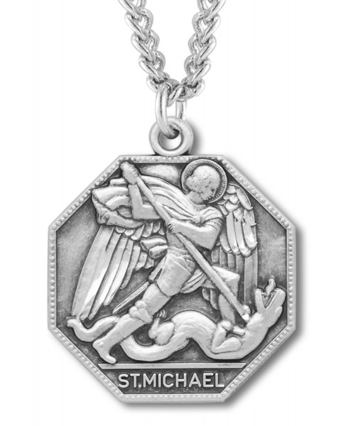 St. Michael Medal - Silver