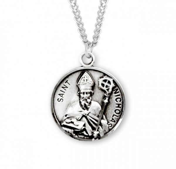 St. Nicholas Medal - Sterling Silver