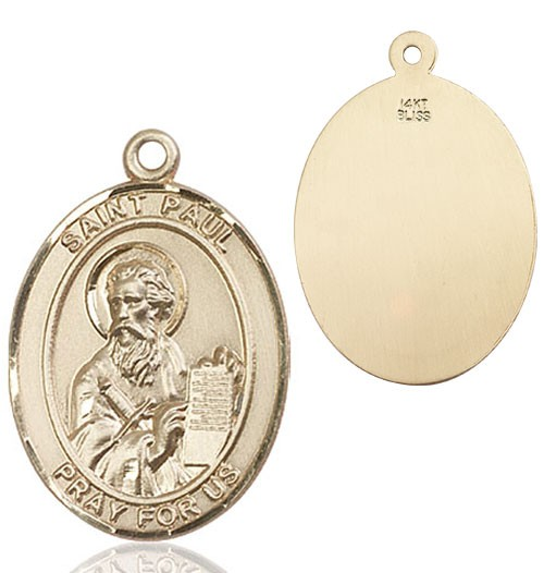 St. Paul Medal - 14K Yellow Gold
