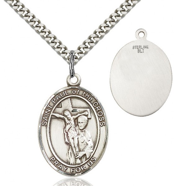 St. Paul of the Cross Medal - Sterling Silver