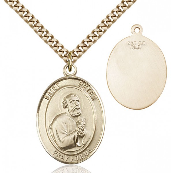 St. Peter Medal - 14KT Gold Filled