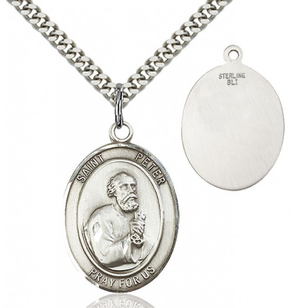 St. Peter Medal - Sterling Silver