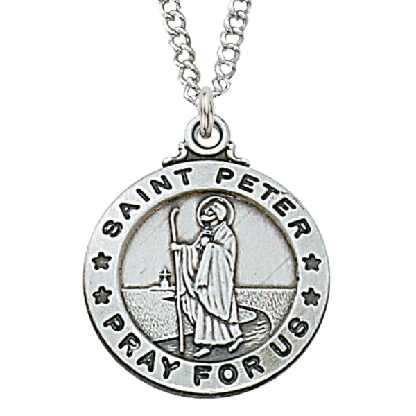 St. Peter medal - Silver
