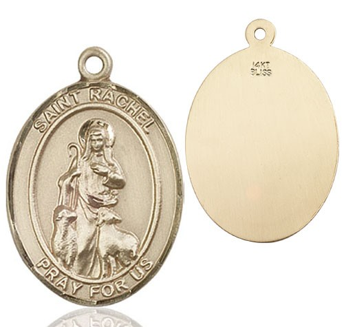 St. Rachel Medal - 14K Yellow Gold