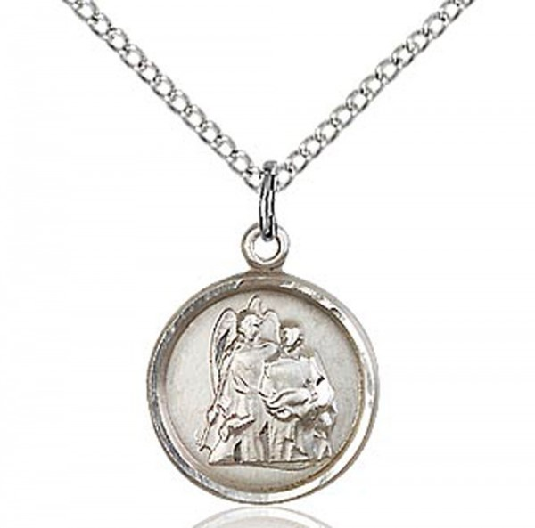 St. Raphael Medal, Small - Sterling Silver
