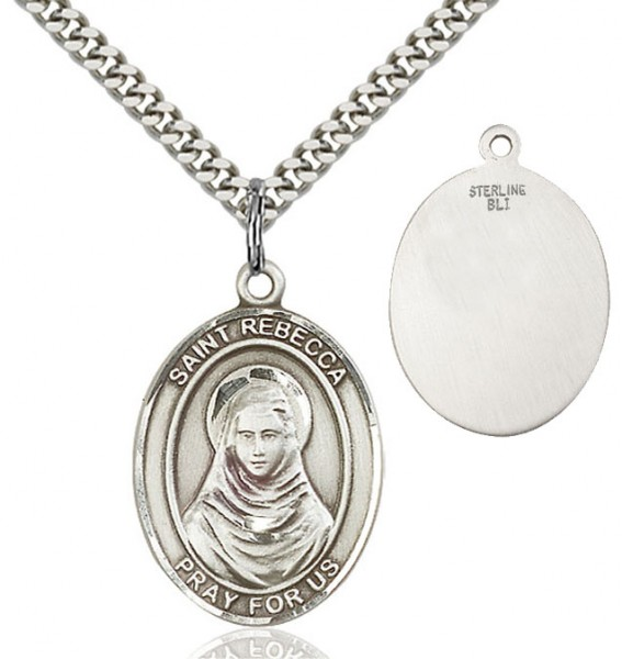 St. Rebecca Medal - Sterling Silver