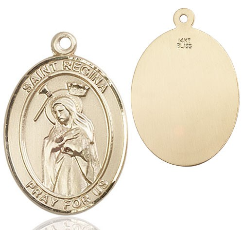 St. Regina Medal - 14K Yellow Gold